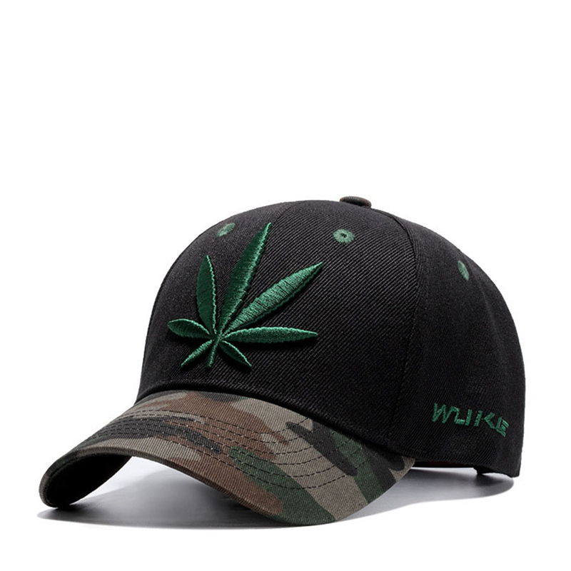 0e3a953bbc6d2 Maple Leaf Cap Weed Snapback - KWNSHOP