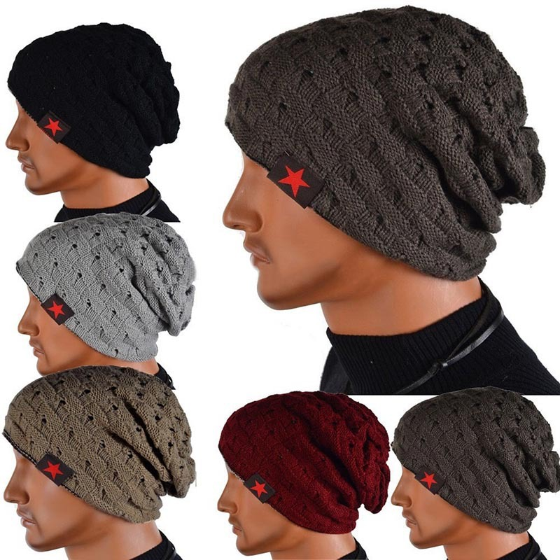 957f744a1b8 ... Reversible Knitted Winter Hat Beanie