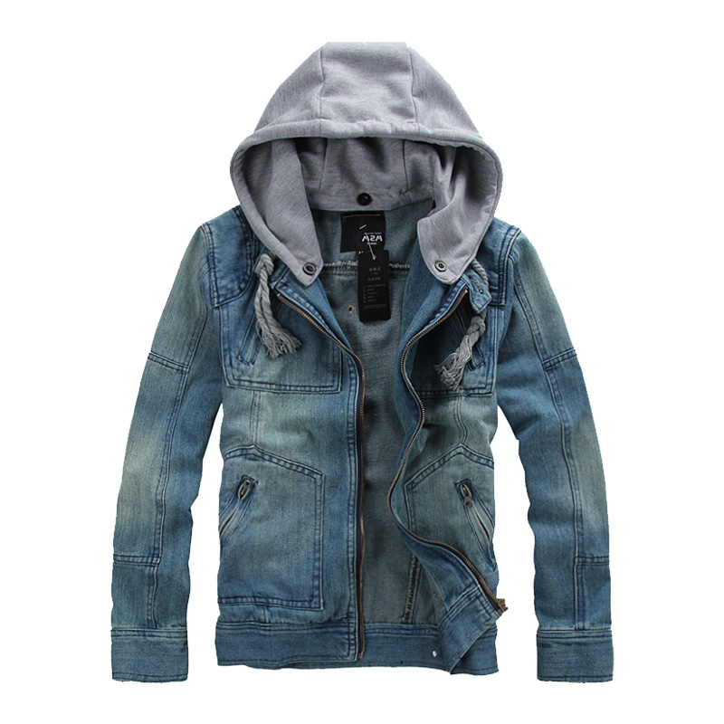 Mens Blue Jacket Denim
