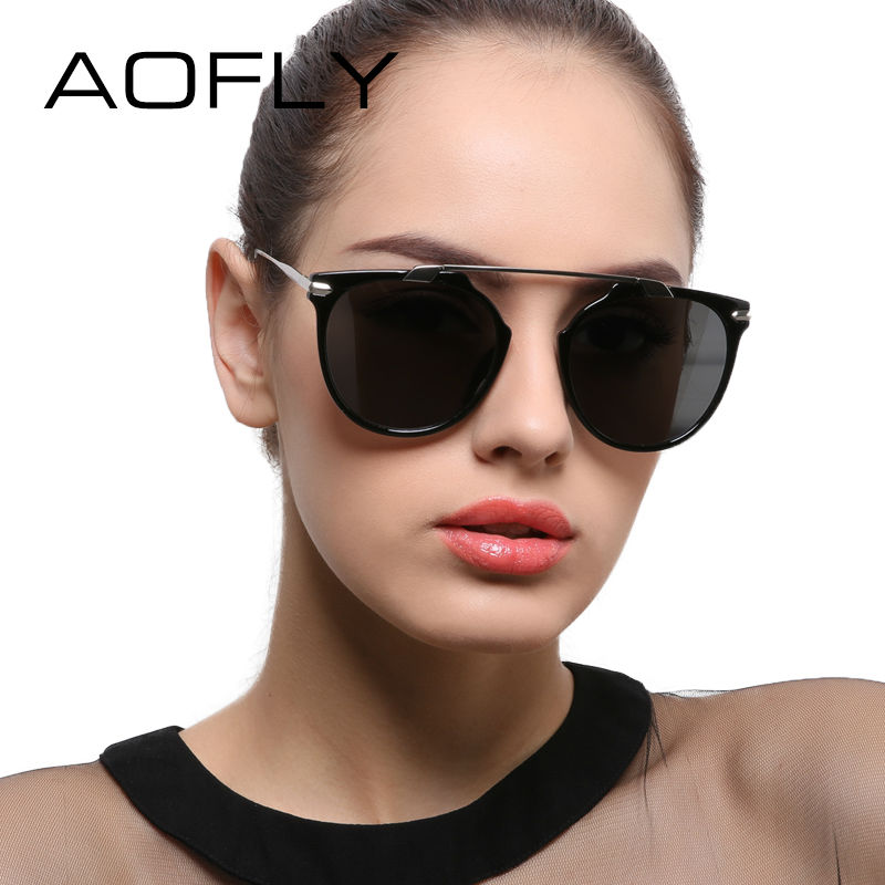 AOF Women Polarized Cat Eye Sunglasses 9135