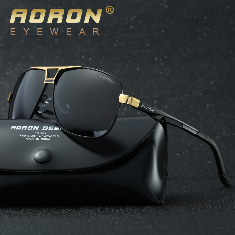 AO Mens Luxury Polarized Sunglasses