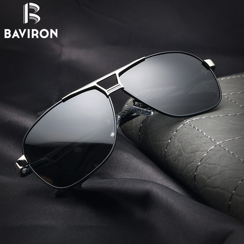 BAV Polarized Metal Sunglasses 852