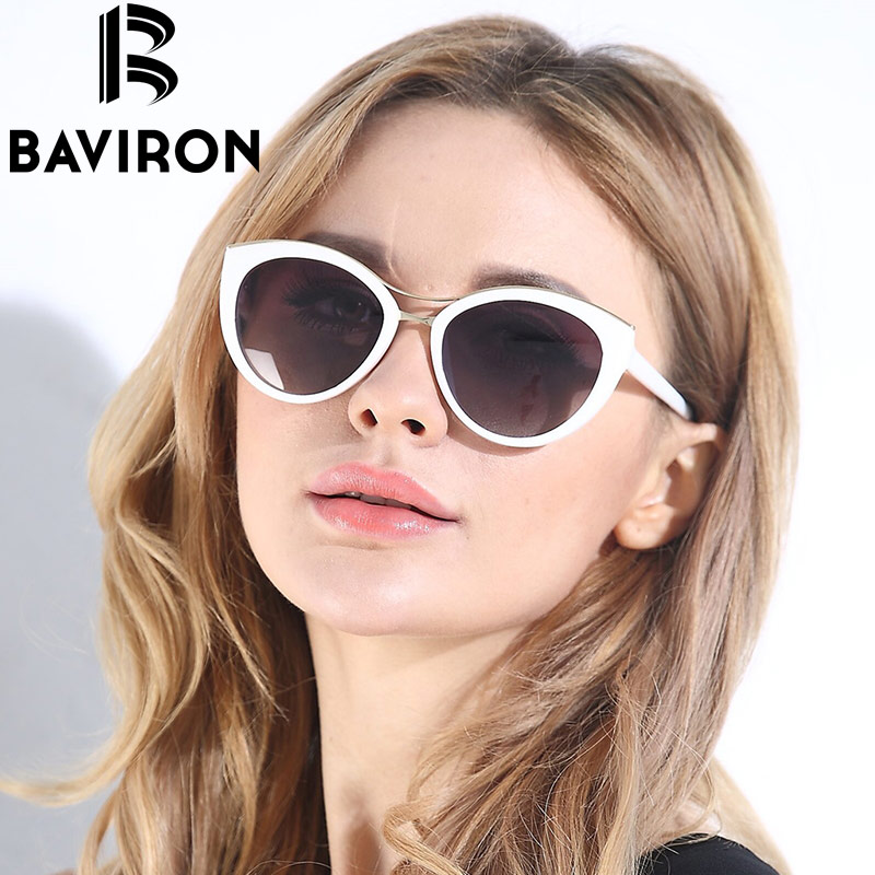 BVN Cat Eye Gradient Polarized Sun Glasses Driving UV400 527