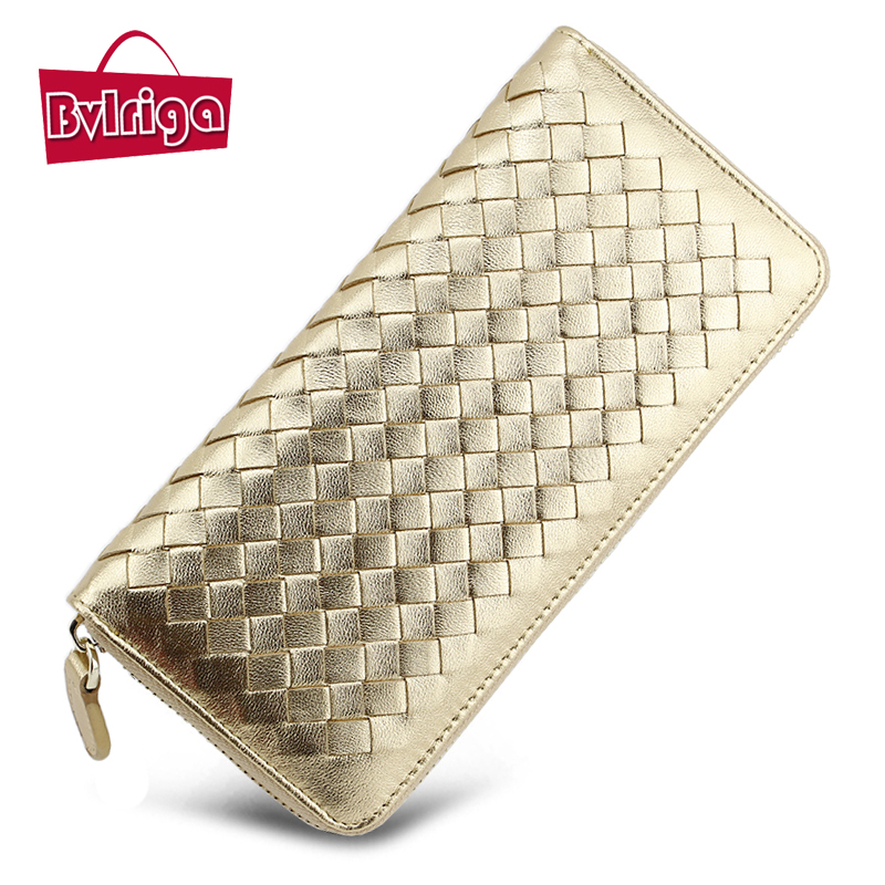 BV Luxury Leather Womens Wallet Bag