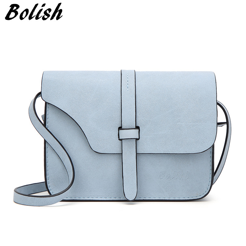 BOL Nubuck Leather Womens Bag