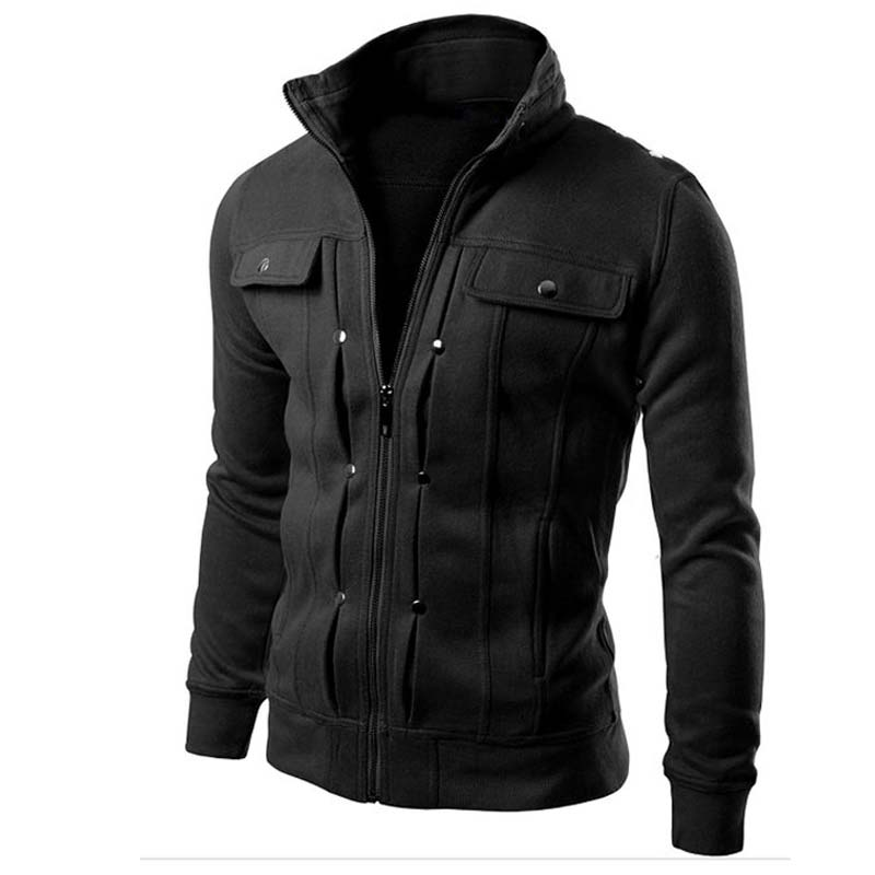 TN Men's Coat Zipper Jacket