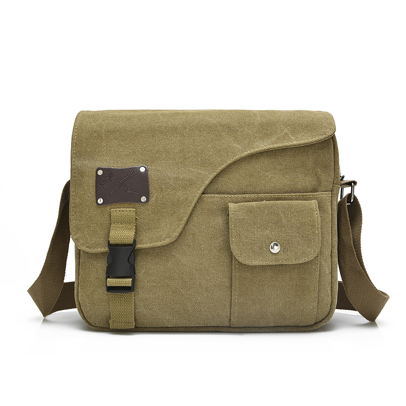 Vintage Canvas Casual Messenger Bag