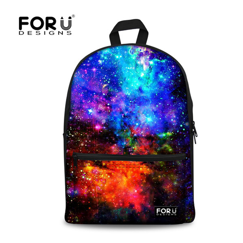 Galaxy Universe Space Backpack