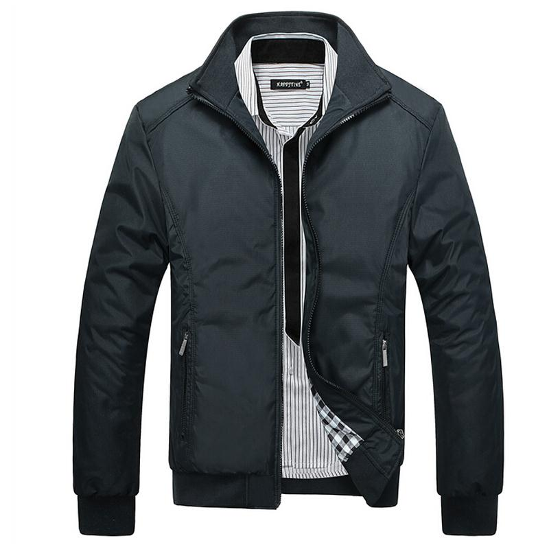 Casual Outwear Windbreaker Mens Jacket