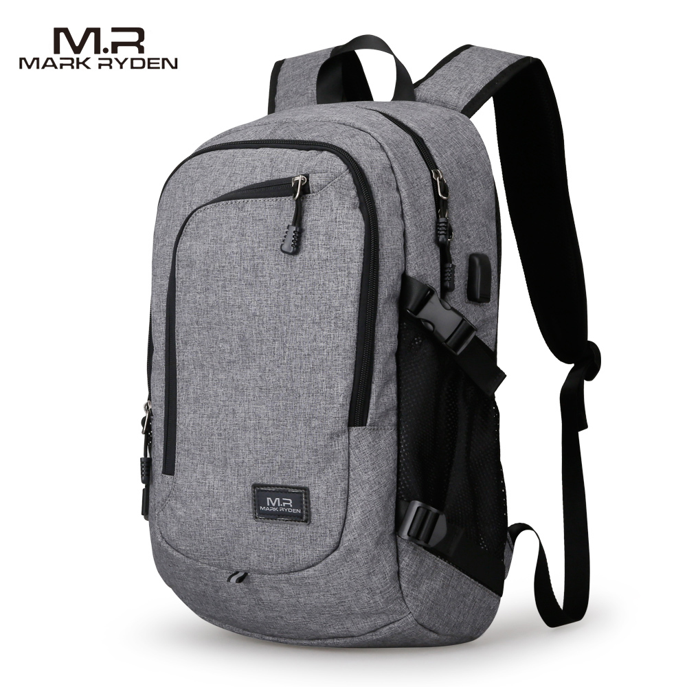 MR Computer Laptop Backpack for 15-16 inches USB Charging
