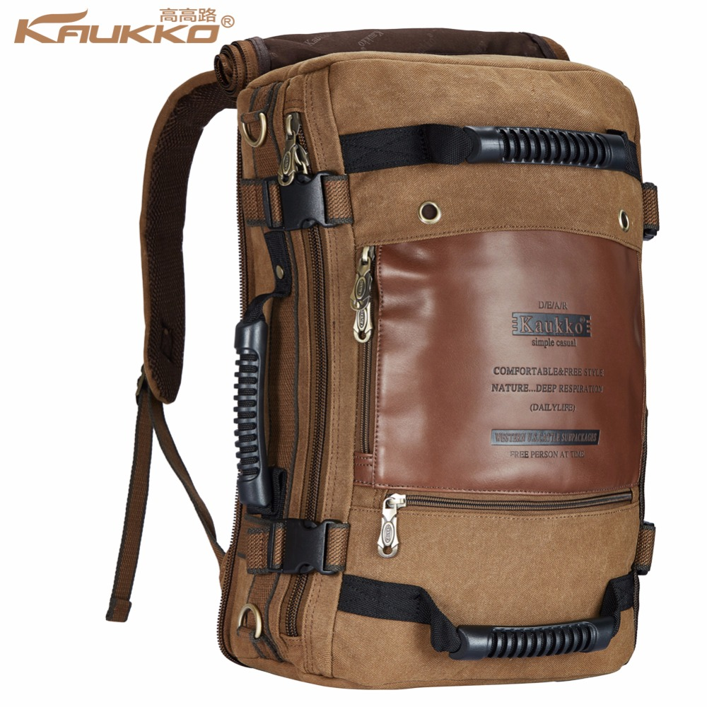 KAU Canvas Multifunctional Travel Bag