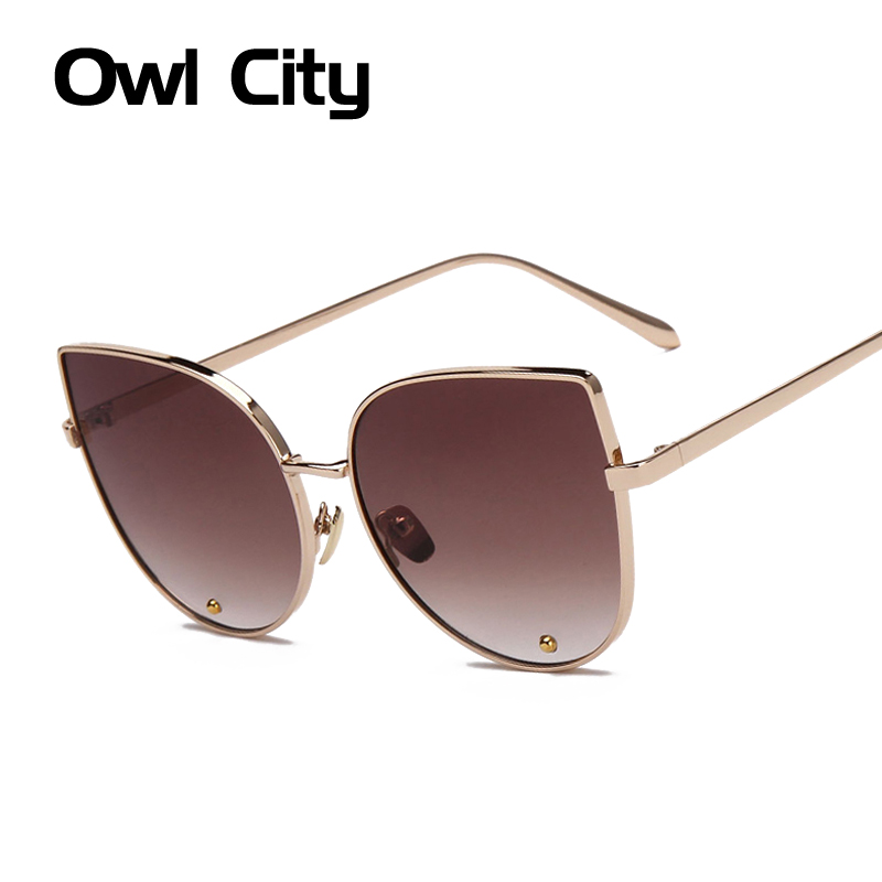 OWC Elegant Cat Eye Sun Glasses Women