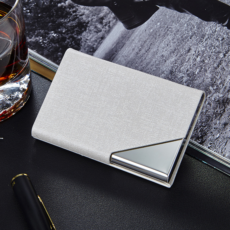 Metal Card Holder Rfid Leather Waterproof Card Protector - KWNSHOP