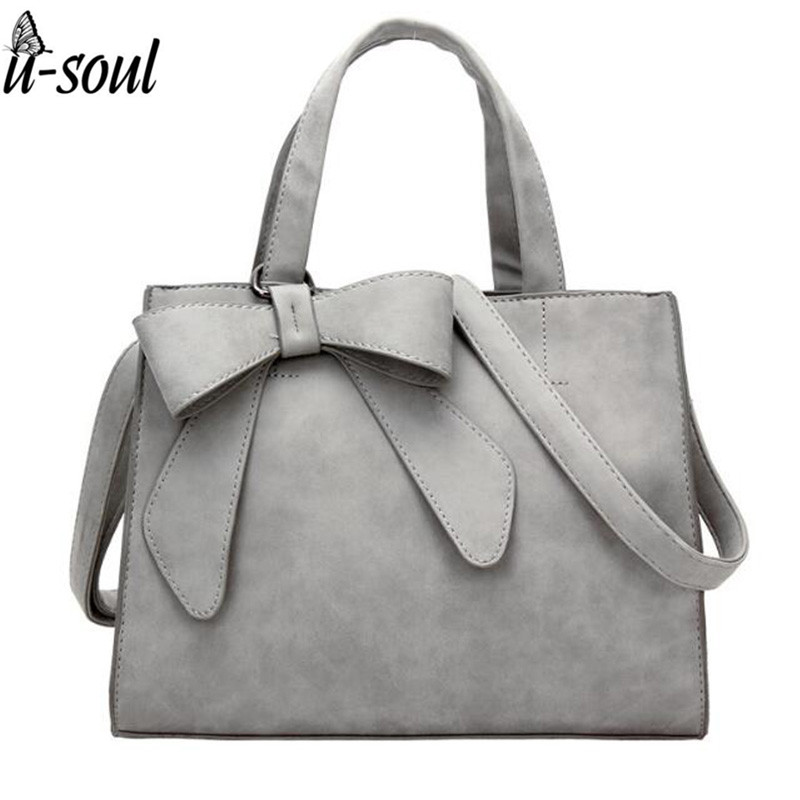 Womens Bow Shoulder Bag