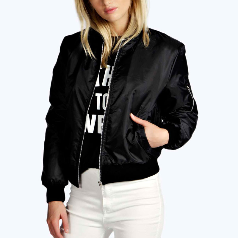 Thin Type Womens Bomber Jacket