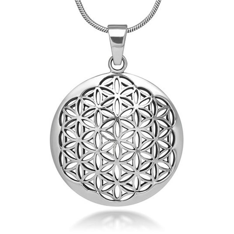 Flower of Life Sacred Geometry Necklace & Pendant