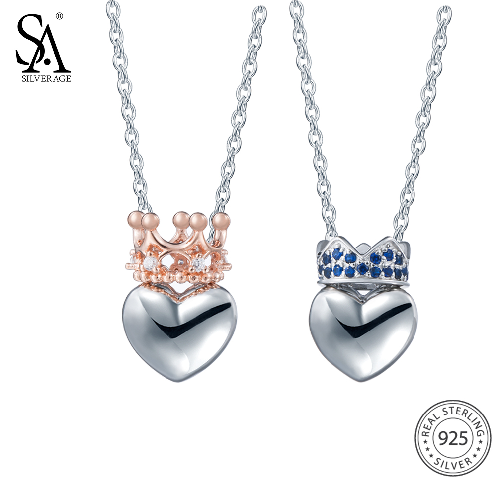 Sterling Silver Heart Necklace Kwnshop