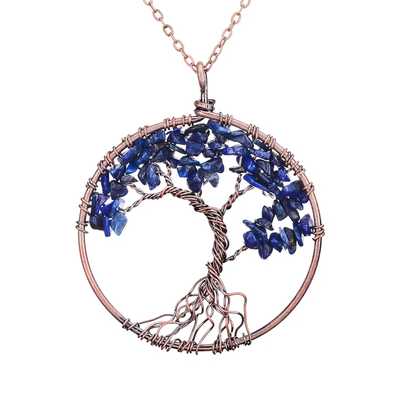 Tree of life necklace kwnshop aloadofball Choice Image