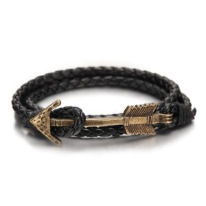 2016-New-Arrival-Multilayer-charm-leather-Vintage-Bronze-Arrow-bracelet-anchor-bracelet-for-men-women-lovers-6.jpg