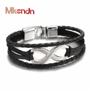 2017-Hot-sale-high-quailty-Infinity-Bracelet-Bangle-Genuine-Leather-Hand-Chain-Buckle-friendship-men-women.jpg